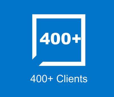 400+ Clients