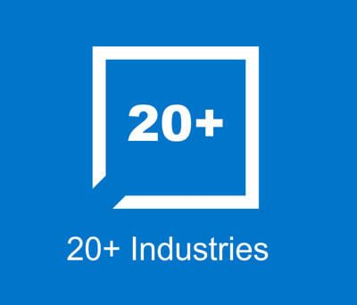 20+ Industries