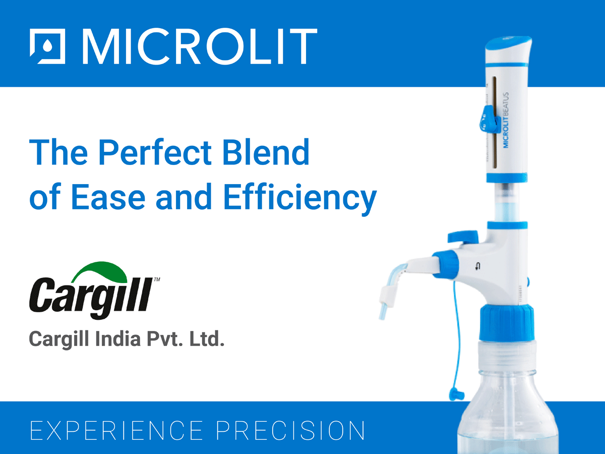 Client success story:  Microlit Beatus – Bottle Top Dispenser with Recirculation ValveTM Technology