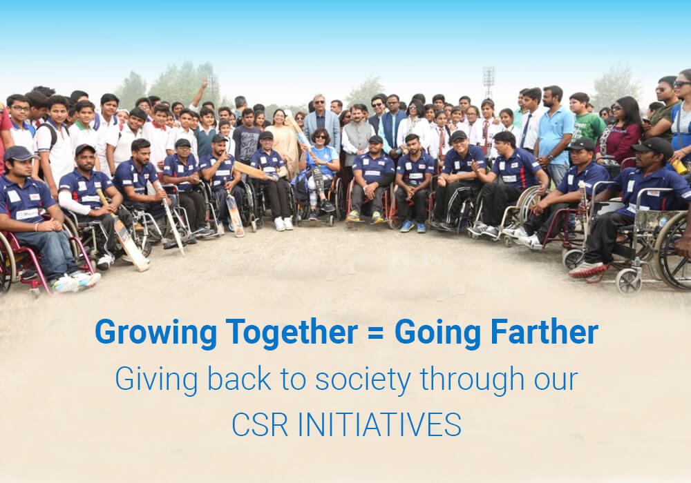 Our CSR Initiatives: Growing Together to Go Farther