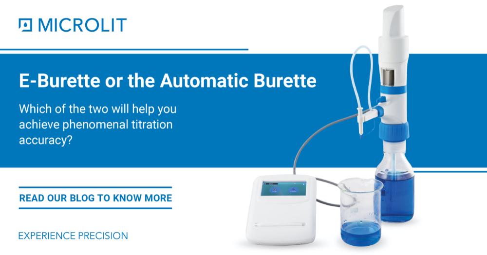 A Comparative Study of the Auto Burette and the E-Burette