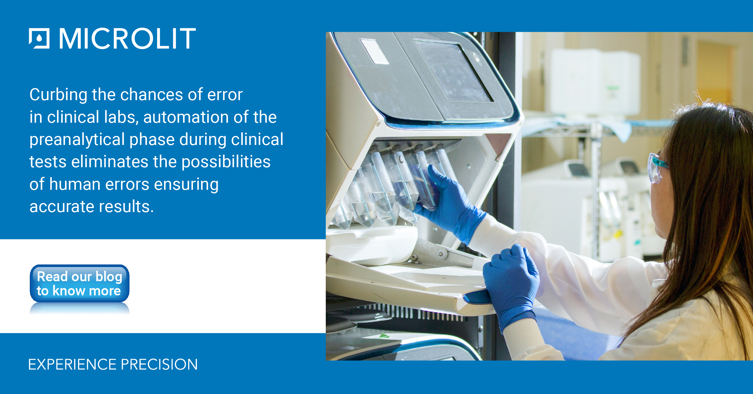 Preanalytical Automation in the Clinical Lab